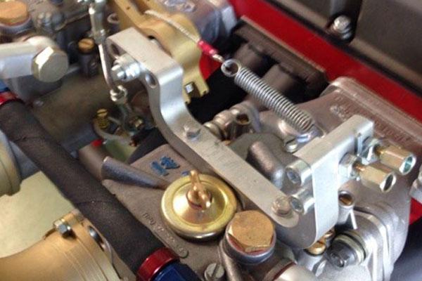 commande deux carburateurs Weber