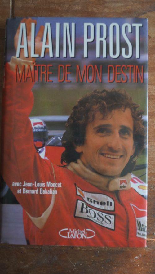 Alain Prost livre