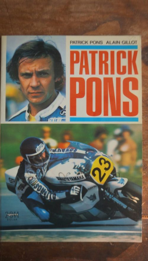 Patrick Pons livre
