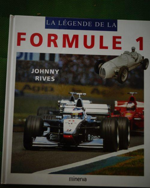 La Légende de la Formule 1 livre