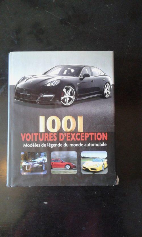 1001 Voitures d'exception livre