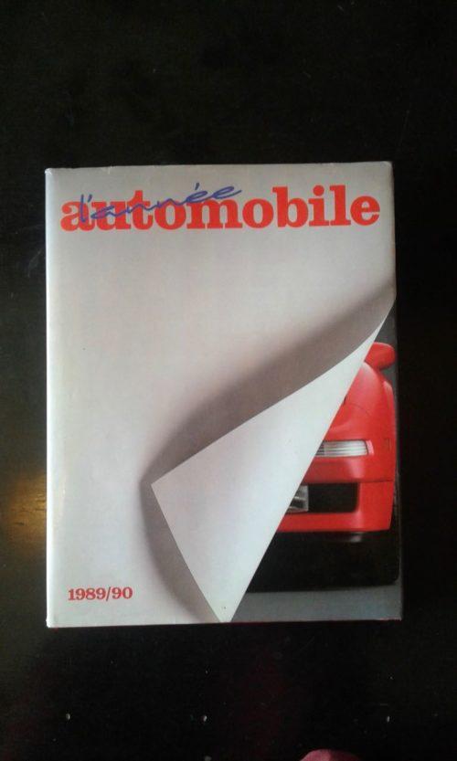 L'année automobile 1989/1990 livre