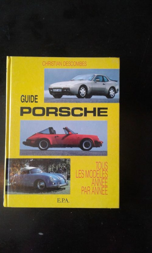 guide Porsche livre