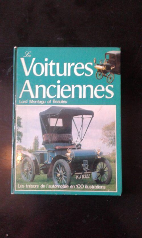 Voitures anciennes livre