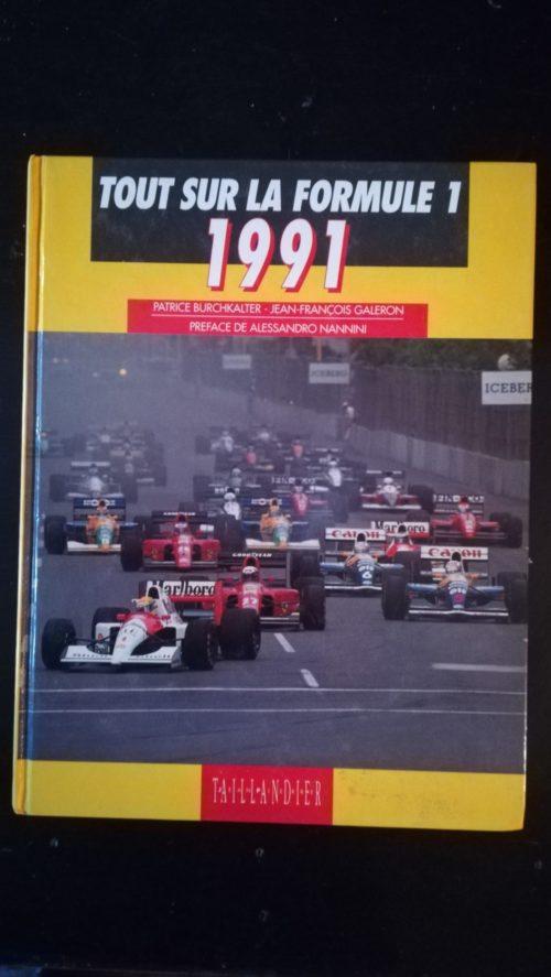 F1 1991 livre