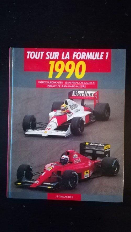 Formule 1 1990 livre