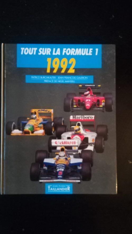 F1 1992 livre
