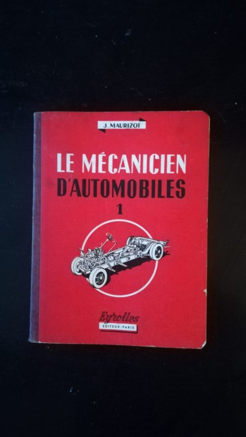 le Mécanicien d'Automobiles livre